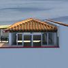 Render tettoia e struttura precaria