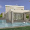 Zona relax con piscina