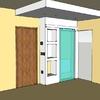 Foto: Ristrutturazione di interni:  mobili in pseudo muratura e cartongesso