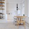 sala da pranzo bianca
