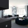 Simulazione 3D vista soggiorno