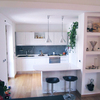 Montare a cucina lunga 4 mt