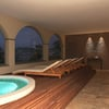 SPA - idromassaggio panoramico- vista notturna
