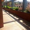 terrazzo su giardino interno