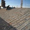 tetto durante il restauro
