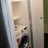 Vano lavatrice dopo