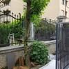verniciatura recinzione villa