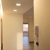 Vista del corridoio, dopo i lavori
