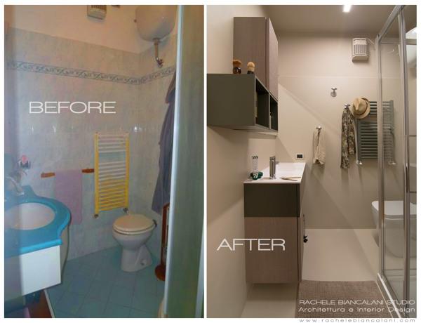 Idee per illuminare bagno cieco: foto finestre interne per