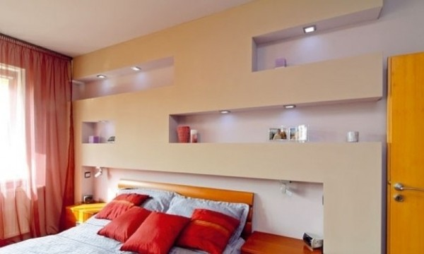 Camera da letto come ottimizzare lo spazio habitissimo - Cartongesso camera da letto ...