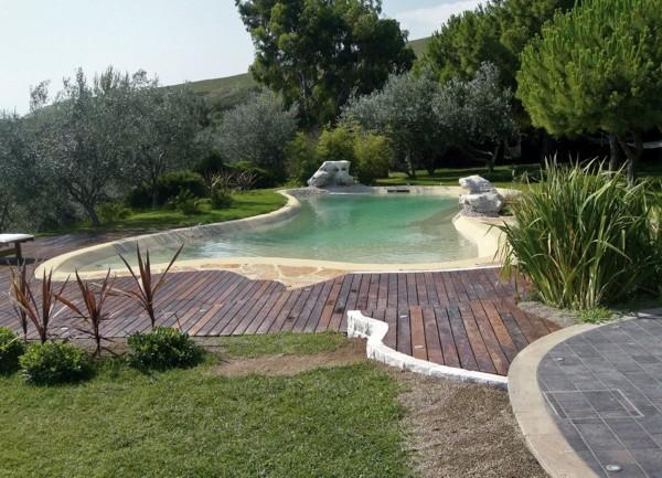 Foto piscina biodesign in sardegna luogosanto di - Biopiscine prezzi ...