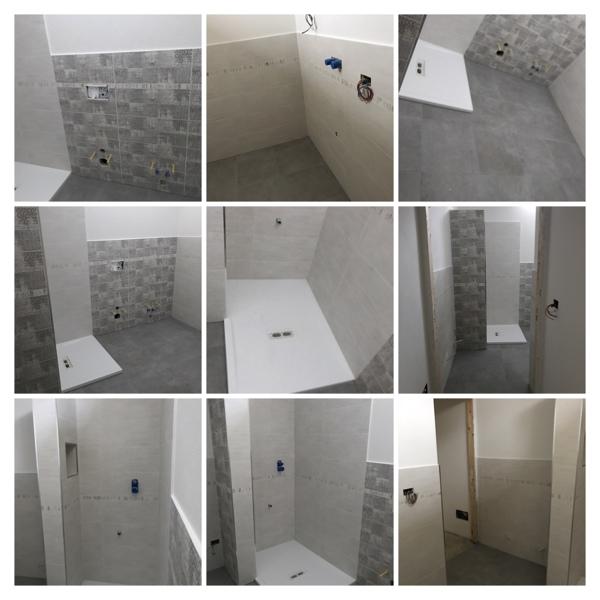 ristrutturazione bagno compreso idraulico e opera murarie