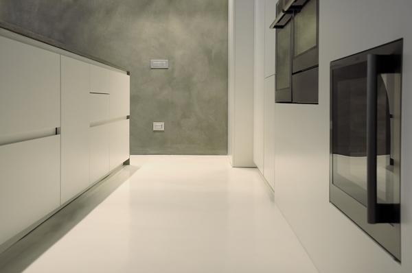 Quanto resistente il pavimento in resina o microcemento habitissimo - Bagno in cemento resinato ...