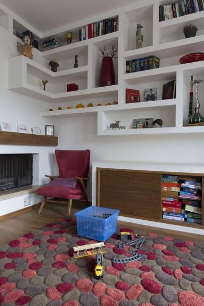 Come realizzare una libreria in cartongesso ad angolo?