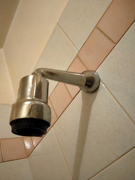 Come togliere un vecchio soffione della doccia?