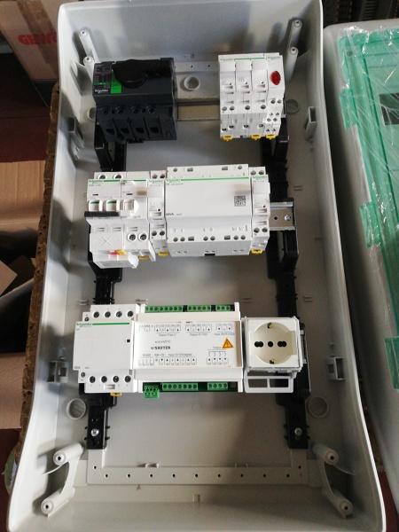 Come collegare il quadro elettrico per ventilatori uta?