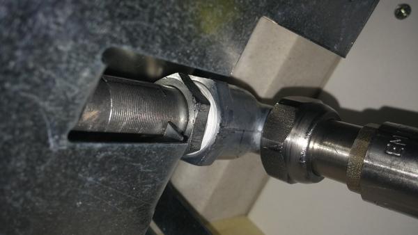 Come posso evitare la perdita gas piano cottura?