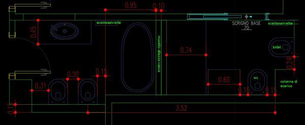 È possibile creare due bagni partendo da uno?