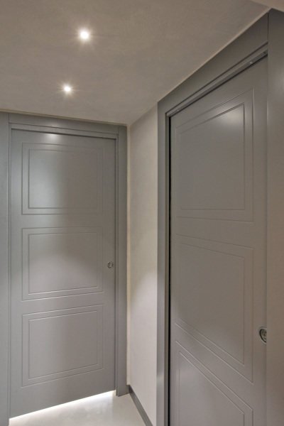 Che colore è stato utilizzato per le porte?