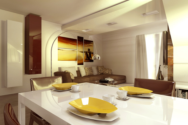 Pittura per cucine latest pitture per pareti cucina for Pittura moderna soggiorno
