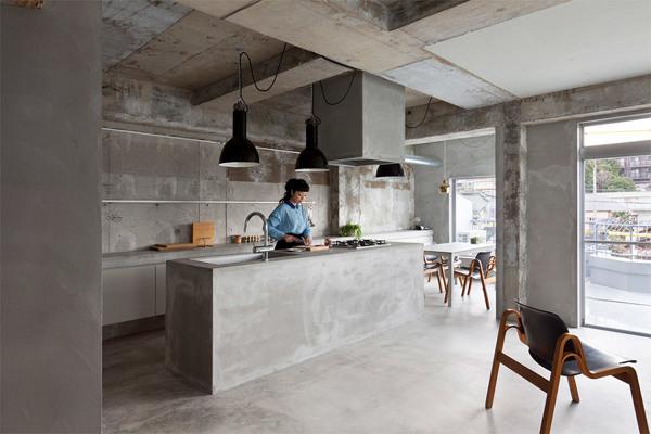 Posso realizzare un\'isola in cucina in calcestruzzo ...