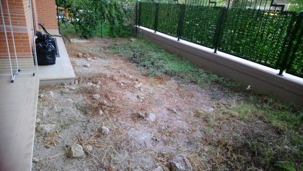 Quanto costerebbe pulire giardino e posare terriccio nuovo?