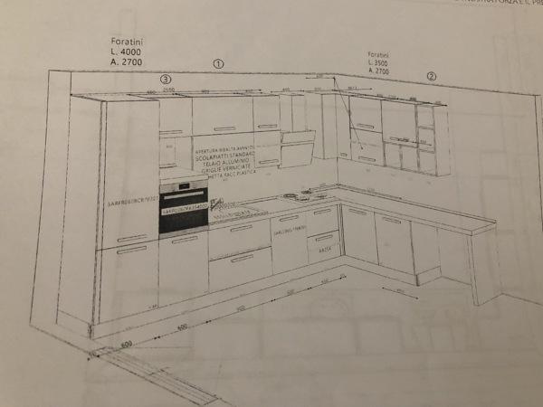 Quali pareti della cucina a vista piastrellare?