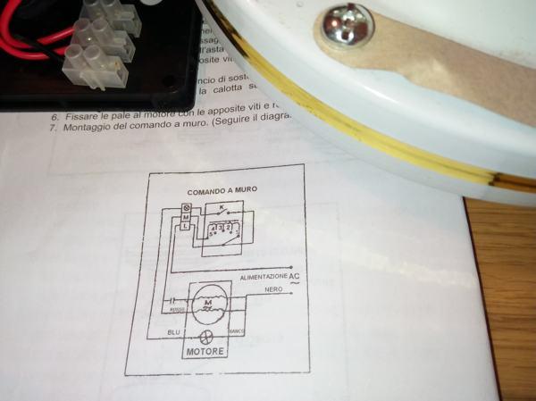 Schema Elettrico Per Ventilatore Da Soffitto : Installare un ventilatore da soffitto con comando a muro habitissimo
