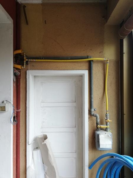 Come si puó sistemare un impianto gas?
