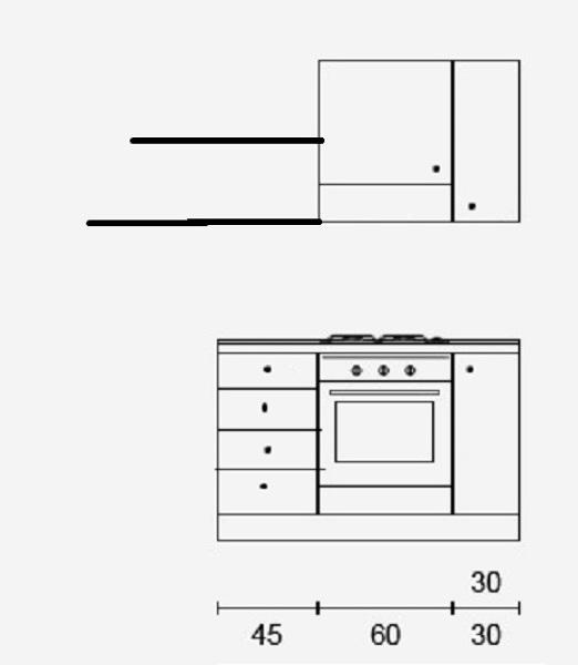 Disposizione mobili cucina habitissimo - Disposizione mobili cucina ...