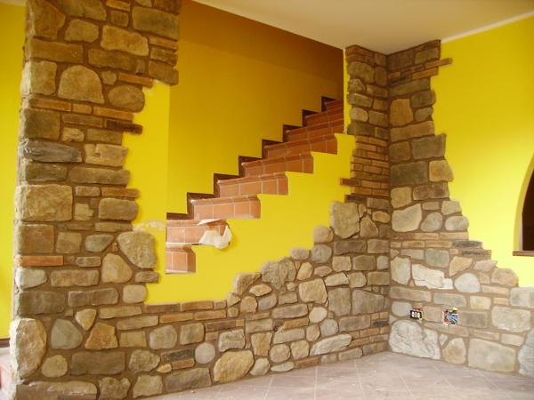Preventivo coprire pareti online habitissimo - Rivestimento cucina finta pietra ...
