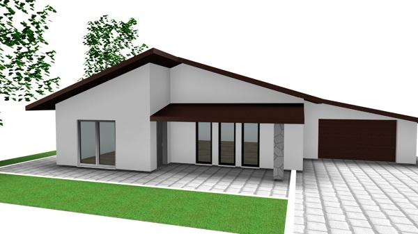 Piantine e prospetti case prefabbricate habitissimo - Progetto casa 100 mq ...