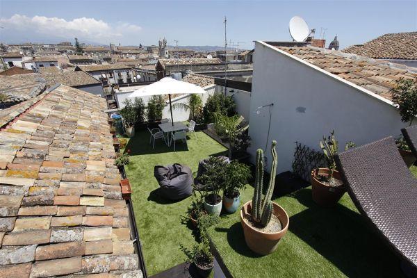 Esistono incentivi per la realizzazione di un prato su un terrazzo?