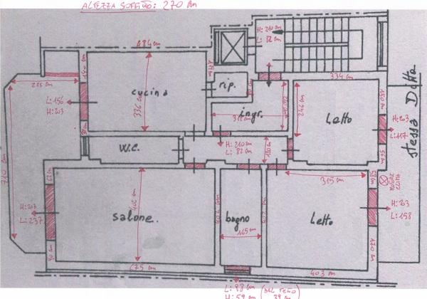 Preventivo ristrutturazione appartamento 60 mq online - Planimetria casa 60 mq ...