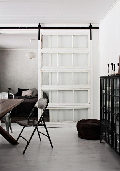 Modificare porta granaio o legno e vetro - habitissimo