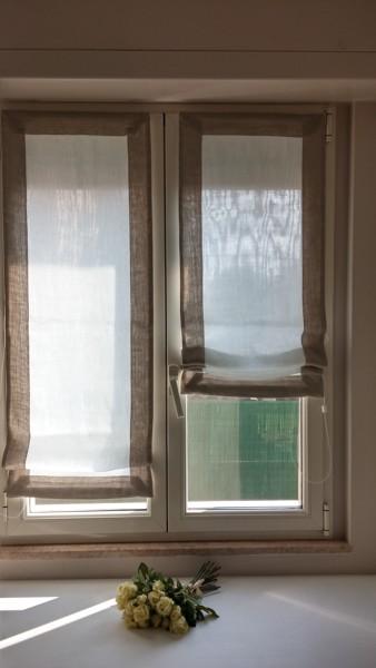 Di che tessuto sono queste tende habitissimo - Tende porta finestra ...