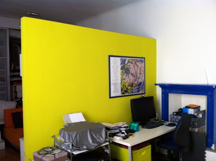 parete soggiorno verde acido ~ dragtime for . - Pareti Soggiorno Verde Acido