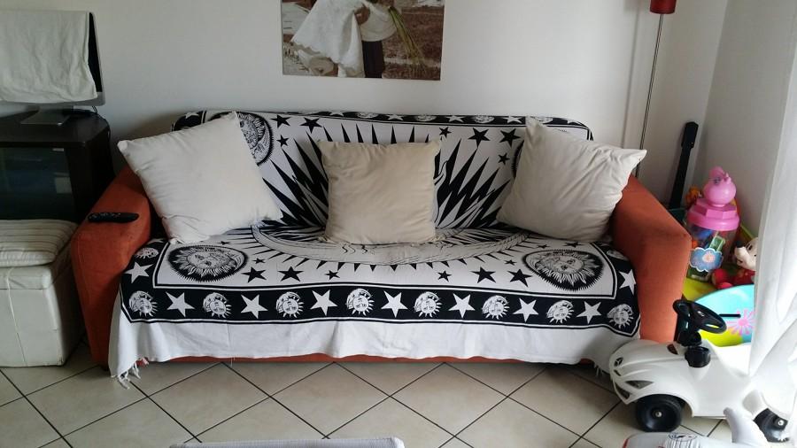 Rifoderare un divano letto in tessuto tre posti torbole - Rifoderare divano ...