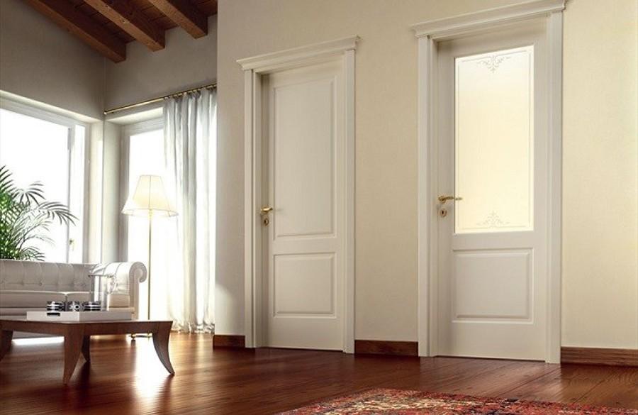 Finestre in pvc porte in laminato bianco pantografate for Finestre pvc bianche