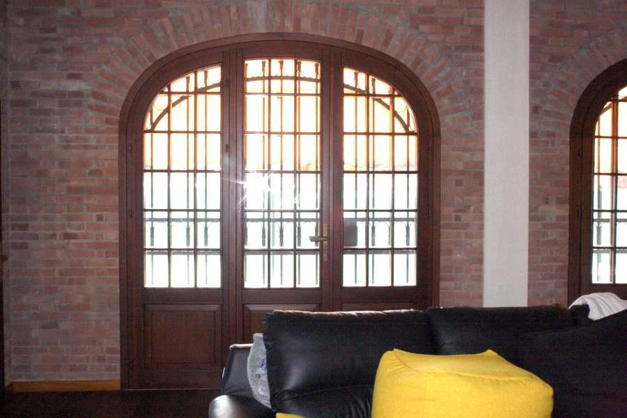Porte finestre ad arco ribassato preganziol treviso - Finestre ad arco prezzi ...