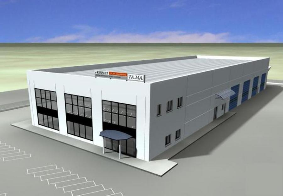 Progetto e costruzione capannone industriale chieti for Piani di capannone per uffici esterni