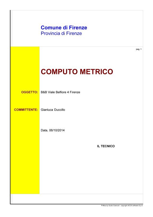 Computo Metrico Ristrutturazione Bagno ~ duylinh for