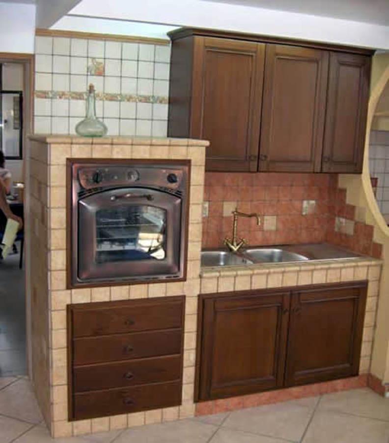 Porta forno in siporex roma roma habitissimo - Piano cucina in muratura ...