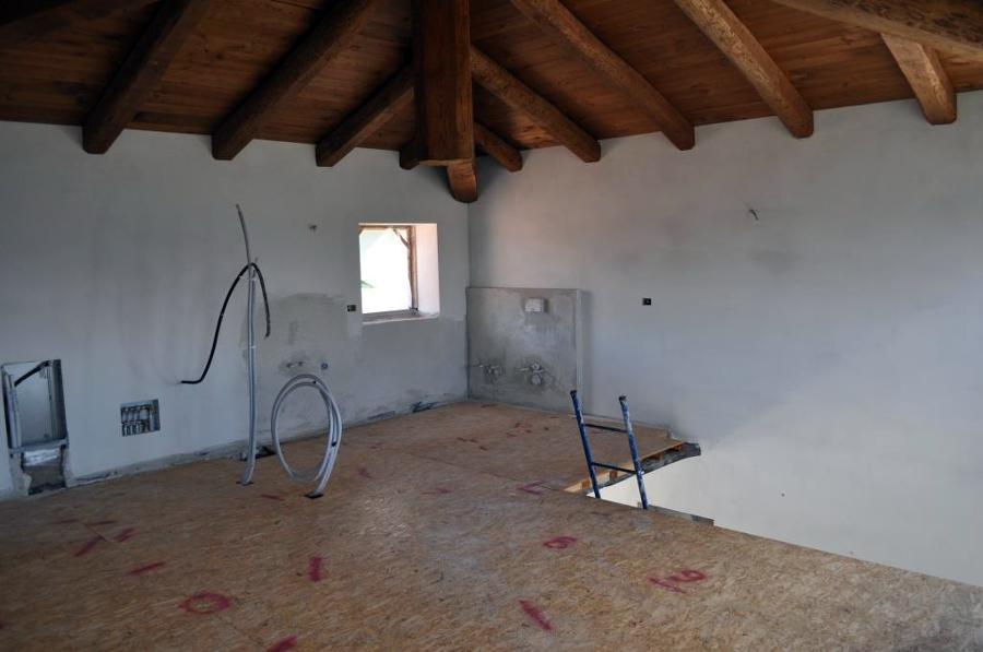 Realizzazione parete divisoria in cartongesso completa di finitura fornitura e posa di tealio - Parete divisoria in cartongesso ...