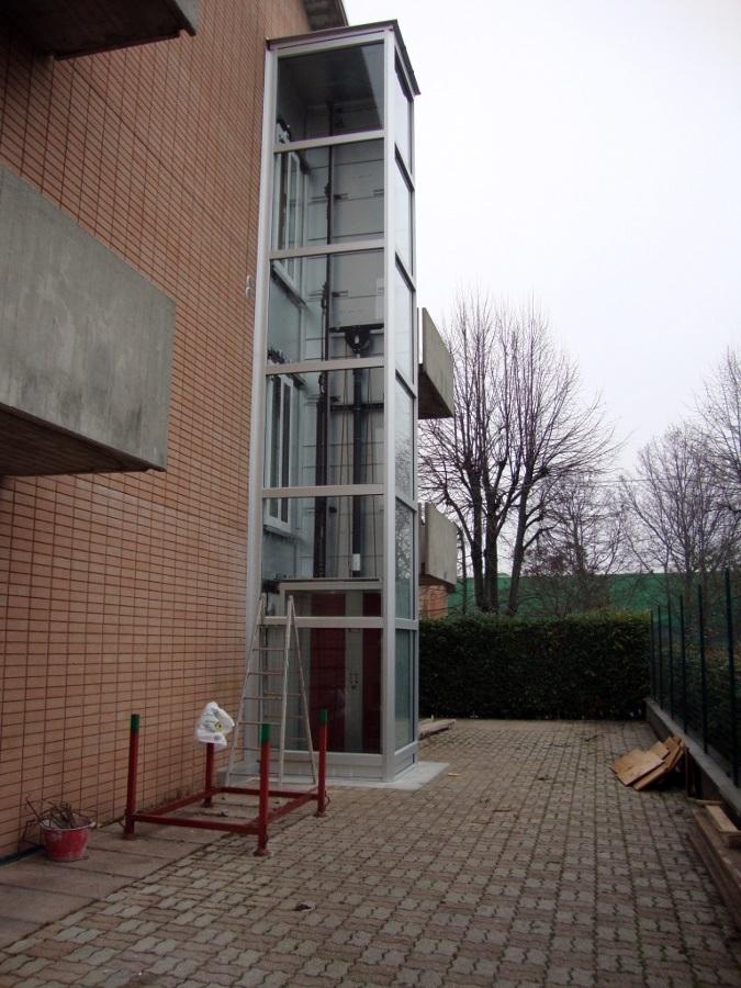 Preventivo ascensore esterno pompa depressione - Ascensori da esterno prezzi ...