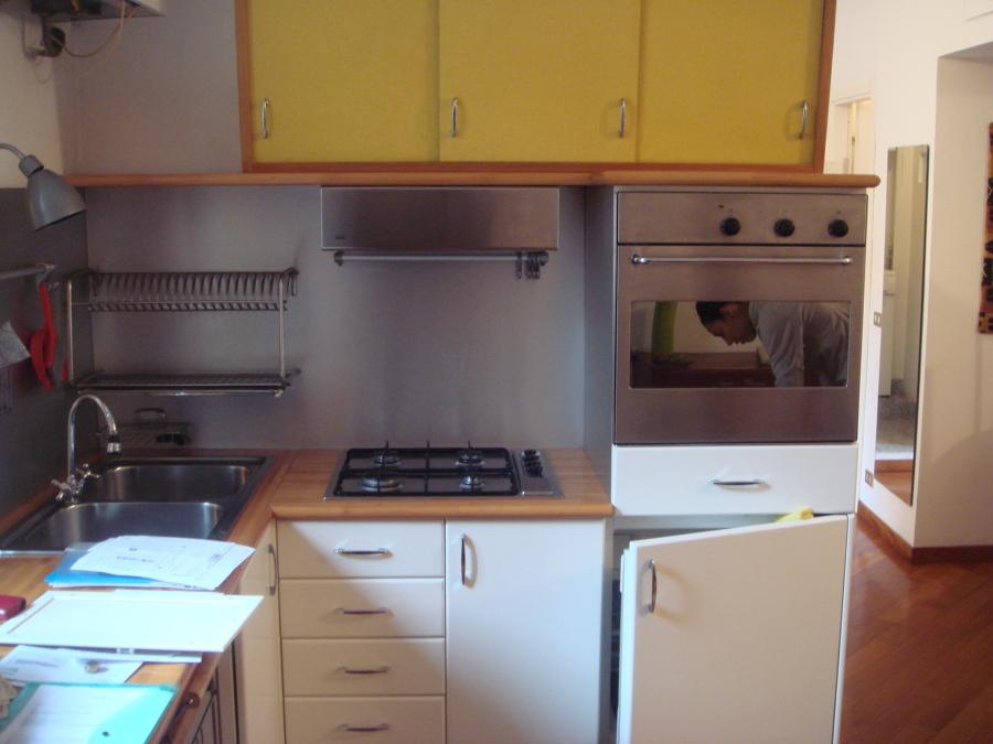 Piano cucina esistente su misura porta genova milano milano habitissimo - Cucina su misura milano ...