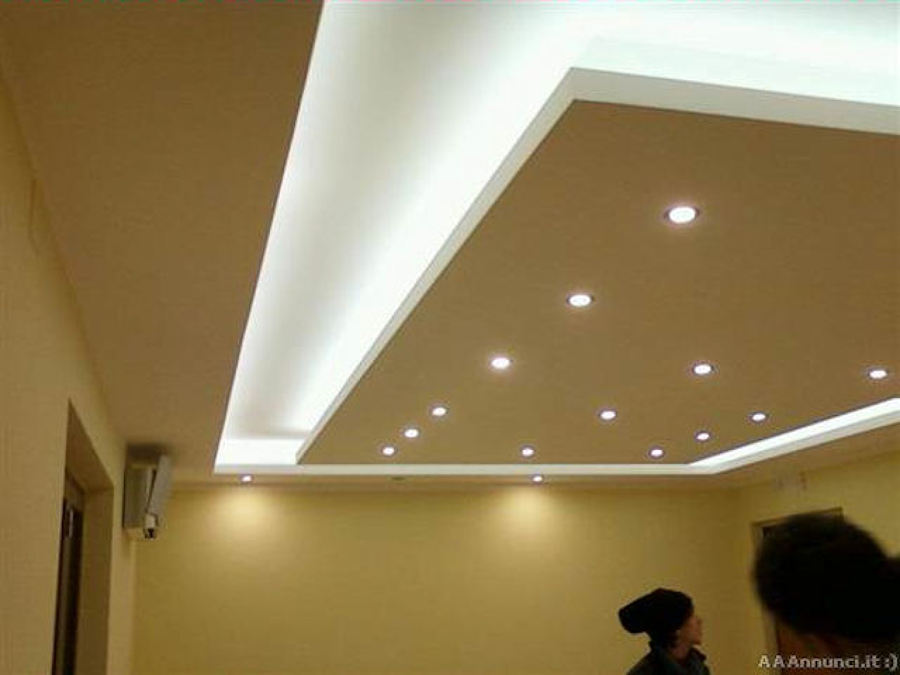 Soffitti in cartongesso con led affordable pirce mini soffitto