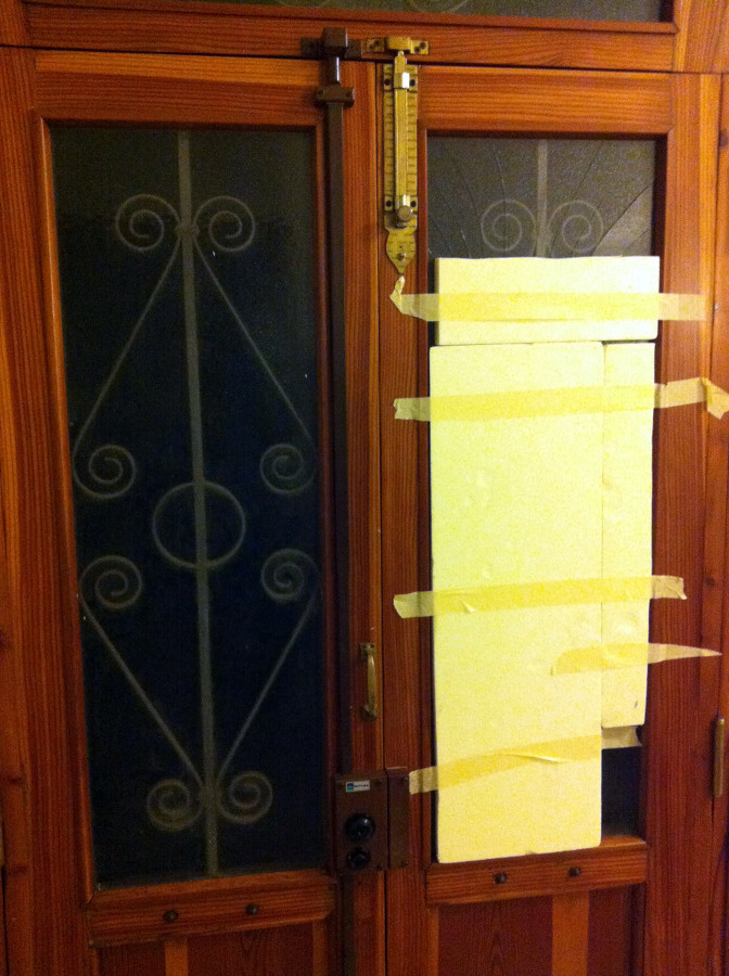 Vetro porta ingresso rotto padova padova habitissimo for Porta ingresso vetro