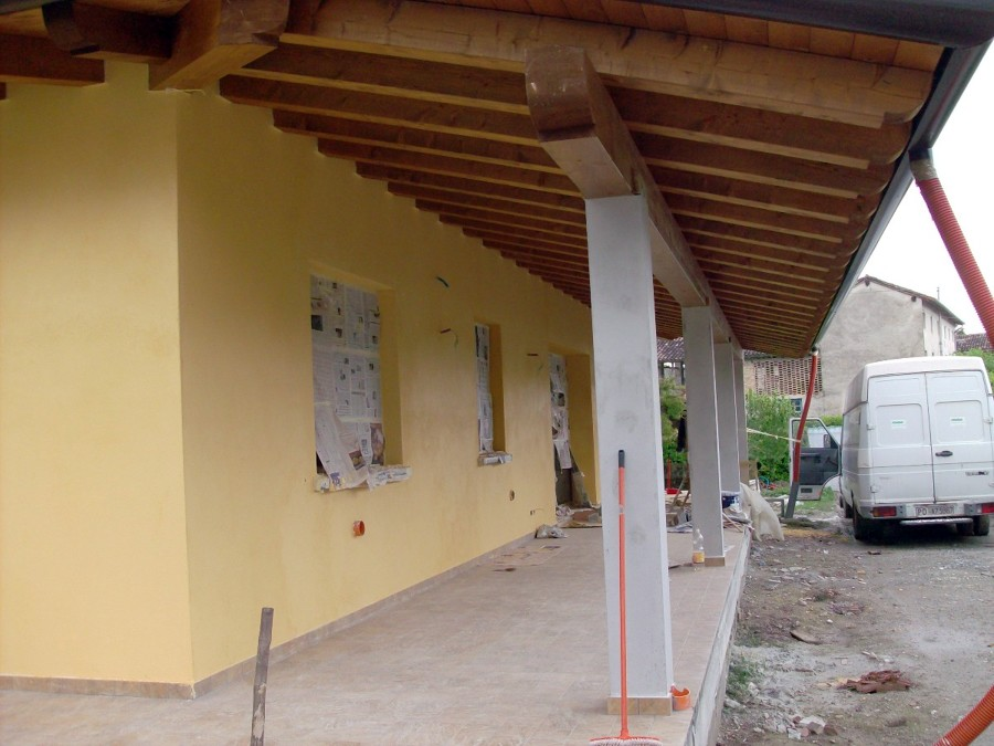 Costruire casa prefabbricata ecologica casarsa della for Sq ft prezzo per costruire casa