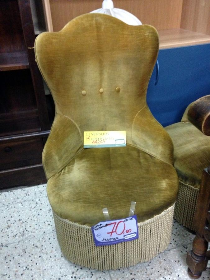 Casa moderna roma italy tappezzare una poltrona - Tappezzare una sedia ...